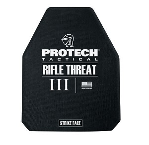 "2113MC-3 Type III Rifle Plate 10"" x 12"" Stand-Alone - Protech Tactical"